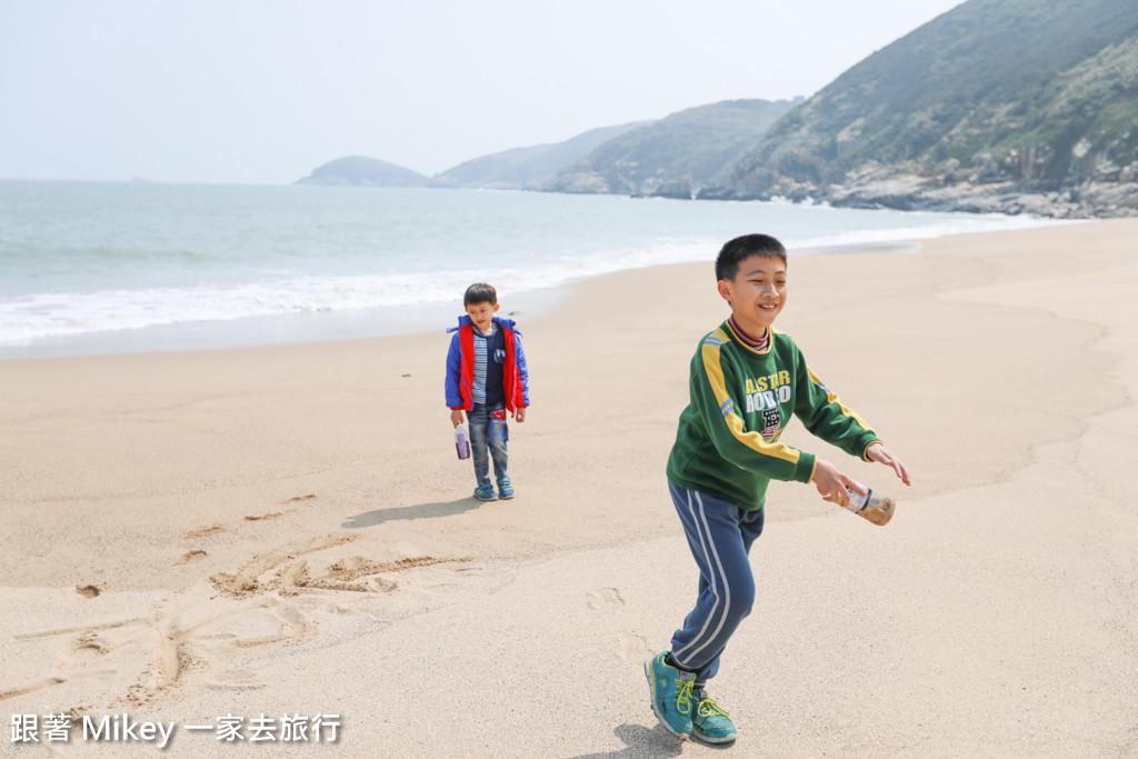 跟著 Mikey 一家去旅行 - 【 北竿 】坂里沙灘