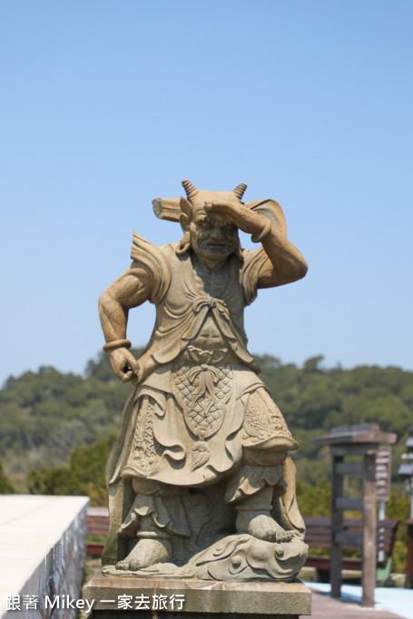 跟著 Mikey 一家去旅行 - 【 南竿 】媽祖巨神像