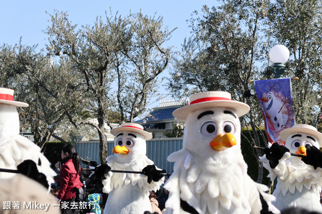 跟著 Mikey 一家去旅行 - 【 舞浜 】東京迪士尼樂園 Tokyo Disneyland - 白天遊行篇