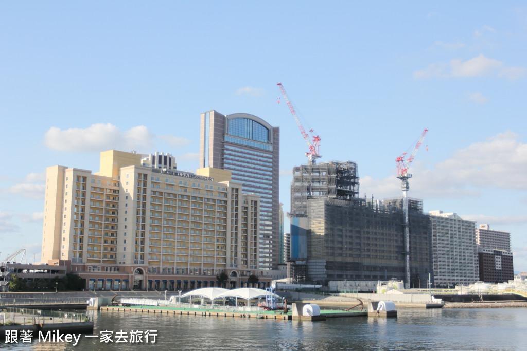 跟著 Mikey 一家去旅行 - 【 大阪 】帆船型觀光船聖瑪麗亞號