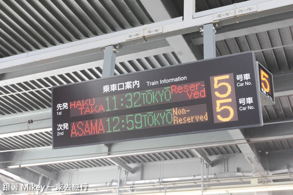 跟著 Mikey 一家去旅行 - 【 長野 】輕井澤站