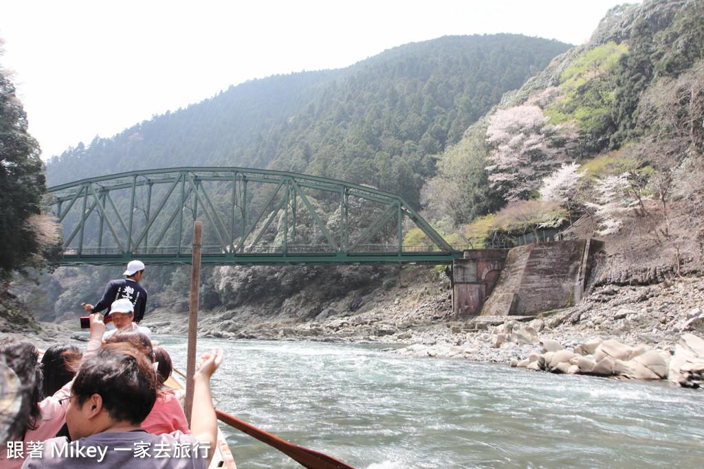 跟著 Mikey 一家去旅行 - 【 京都 】保津川遊船 - Part 2