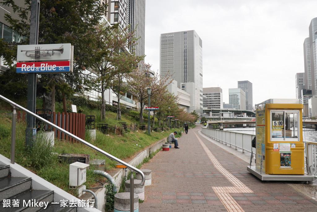 跟著 Mikey 一家去旅行 - 【 大阪 】中之島遊船