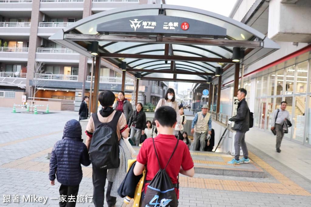 跟著 Mikey 一家去旅行 - 【 京都 】二條城 - 夜櫻 - Part 1