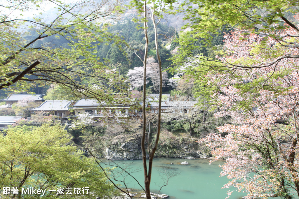 跟著 Mikey 一家去旅行 - 【 京都 】嵯峨野嵐山小火車 - Part II