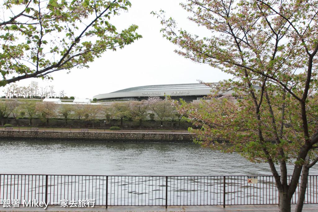跟著 Mikey 一家去旅行 - 【 大阪 】大阪城公園周遭