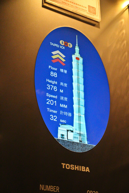 跟著 Mikey 一家去旅行 - 【 台北 】Taipei 101 - 89F