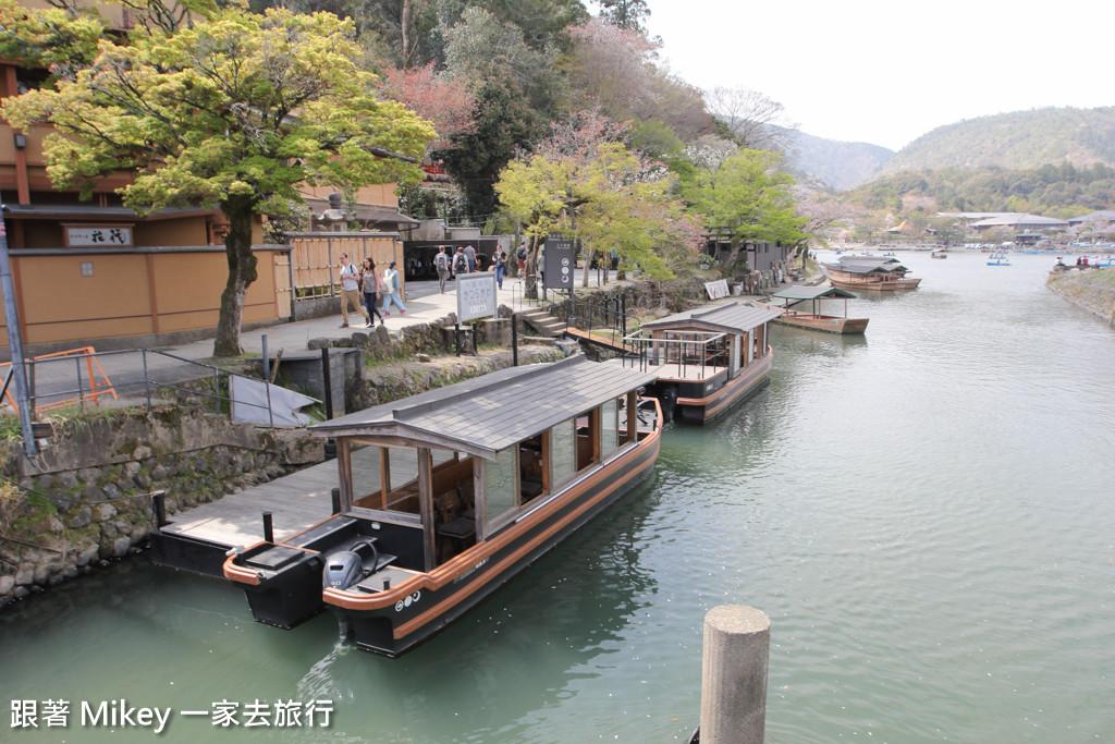 跟著 Mikey 一家去旅行 - 【 京都 】嵐山公園、渡月橋