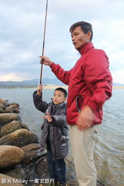 跟著 Mikey 一家去旅行 - 【 福隆 】福容大飯店 - 釣魚 & 獨木舟篇