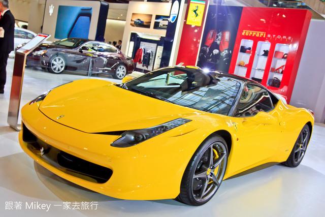 跟著 Mikey 一家去旅行 - 【 台北 】2014 台北國際車展 - 名車篇