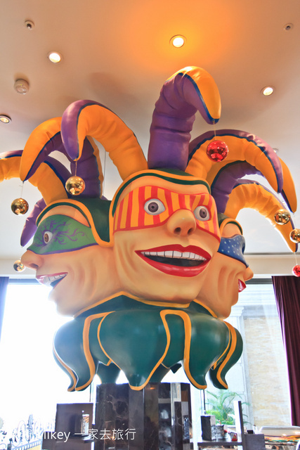 跟著 Mikey 一家去旅行 - 【 高雄 】義大皇冠假日飯店 - The Cut牛排屋鐵板燒 & 柳町壽司屋