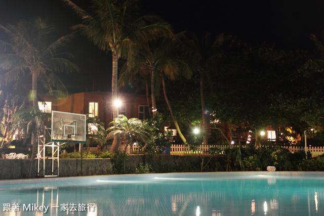 跟著 Mikey 一家去旅行 - 【 恆春 】墾丁夏都沙灘酒店 - 普羅館 - 夜景篇