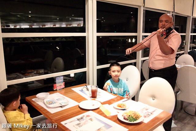 跟著 Mikey 一家去旅行 - 【 恆春 】墾丁夏都沙灘酒店 - 普羅館 - 愛情海西餐廳 - 晚餐篇