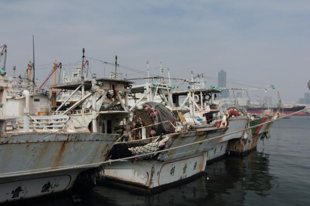 跟著 Mikey 一家去旅行 - 【 旗津 】旗津漁港
