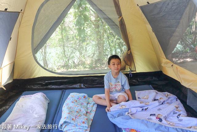 跟著 Mikey 一家去旅行 - 【 坪林 】合歡露營山莊 - Part I