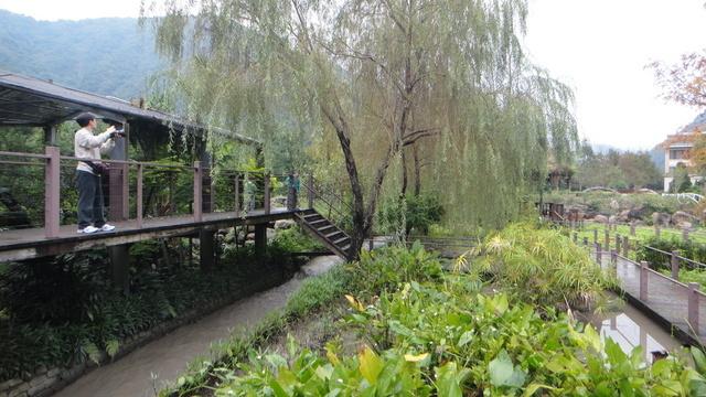 跟著 Mikey 一家去旅行 - 【 埔里 】台一生態休閒農場