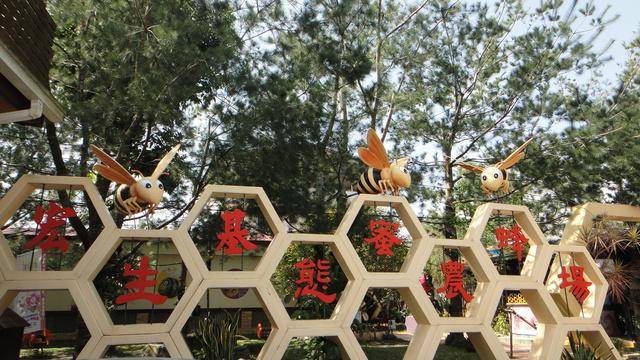 跟著 Mikey 一家去旅行 - 【 南投 】宏基蜜蜂生態農場