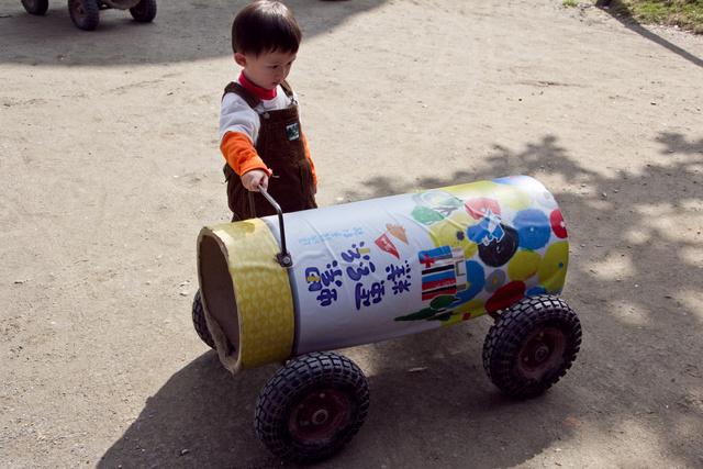跟著 Mikey 一家去旅行 - 【 南投 】造紙龍手創館