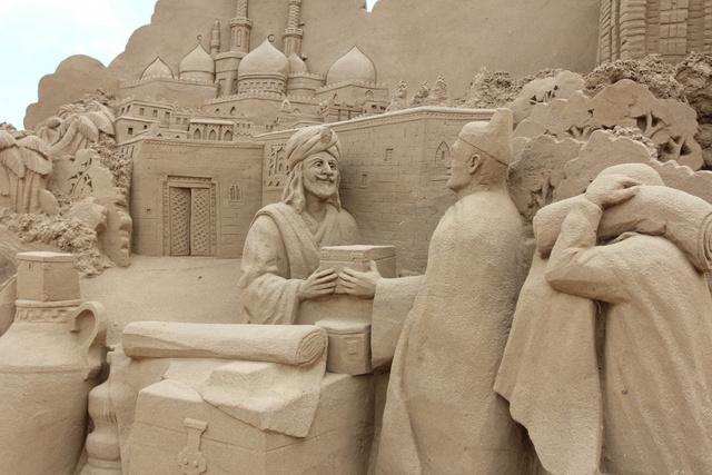 跟著 Mikey 一家去旅行 - 【 福隆 】2014 福隆國際沙雕藝術季 - 沙雕主展作品區