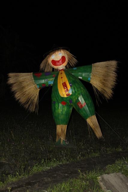 跟著 Mikey 一家去旅行 - 【 三星 】宜蘭三星稻草藝術裝置