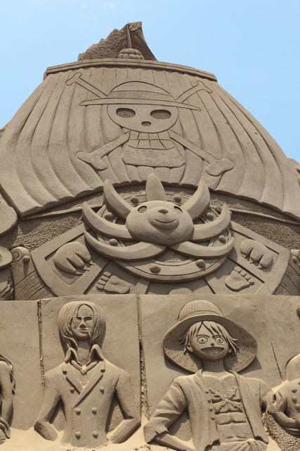 跟著 Mikey 一家去旅行 - 【 福隆 】2013 福隆國際沙雕藝術季