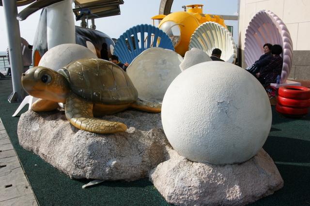 跟著 Mikey 一家去旅行 - 【 車城 】國立海洋生物博物館 - 台灣水域館