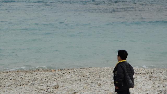 跟著 Mikey 一家去旅行 - 【 恆春 】星砂灣