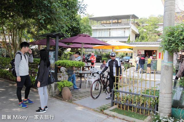 跟著 Mikey 一家去旅行 - 【 八里 】左岸庭園餐屋