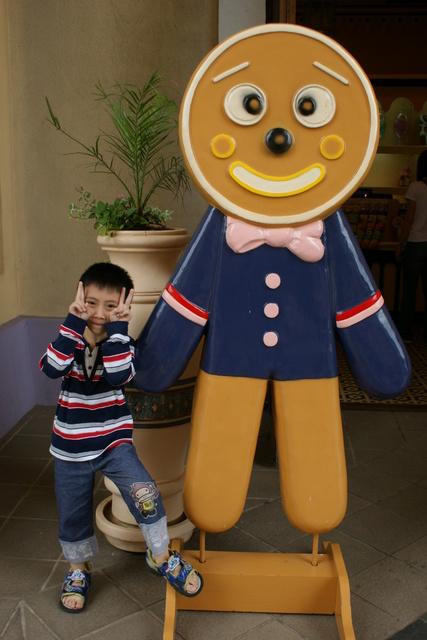 跟著 Mikey 一家去旅行 - 【 關西 】六福村主題遊樂園 - 阿拉伯皇宮 & 中央魔術噴泉