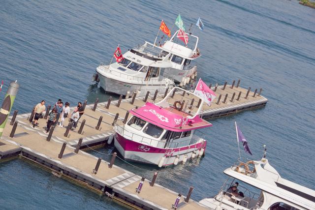 跟著 Mikey 一家去旅行 - 【 魚池 】玄光寺碼頭