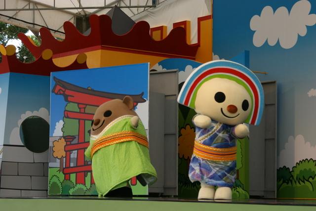 跟著 Mikey 一家去旅行 - 【 龍潭 】小人國主題樂園 - 表演篇