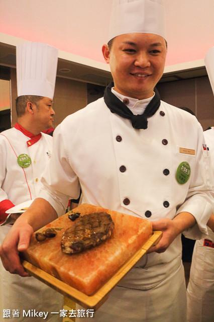 跟著 Mikey 一家去旅行 - 【 報導 】2015 TCE 台灣美食展展前記者會 - 大廚上菜秀篇