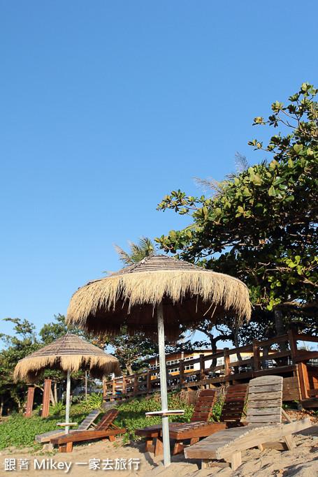 跟著 Mikey 一家去旅行 - 【 恆春 】墾丁夏都沙灘酒店 Day 2 - 沙灘篇