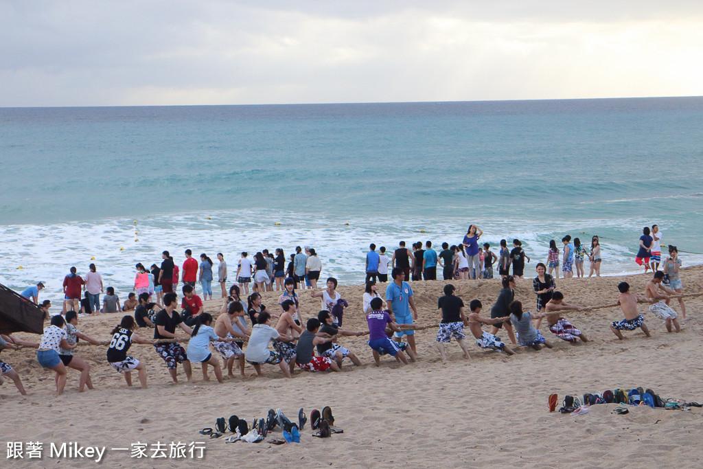 跟著 Mikey 一家去旅行 - 【 恆春 】墾丁夏都沙灘酒店 Day 1 - 沙灘篇