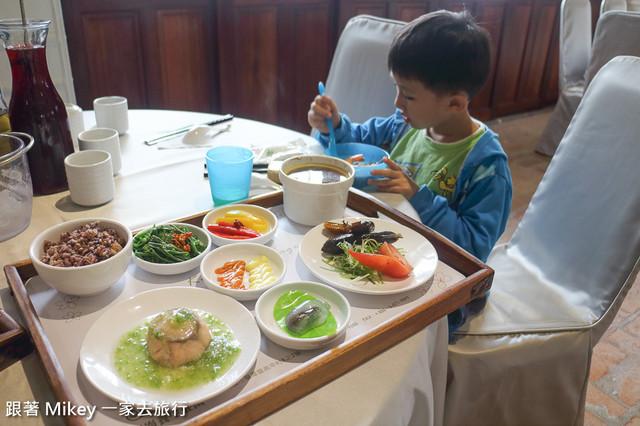跟著 Mikey 一家去旅行 - 【 桃園 】崑崙養生莊園 - 美食篇