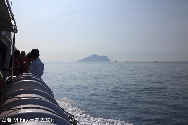 跟著 Mikey 一家去旅行 - 【 宜蘭 】龜山島賞鯨