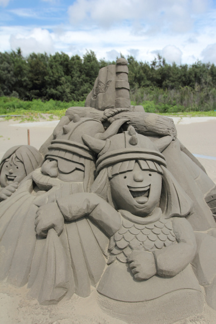 跟著 Mikey 一家去旅行 - 【 將軍 】馬沙溝濱海遊憩區 - 2013 一見雙雕藝術季