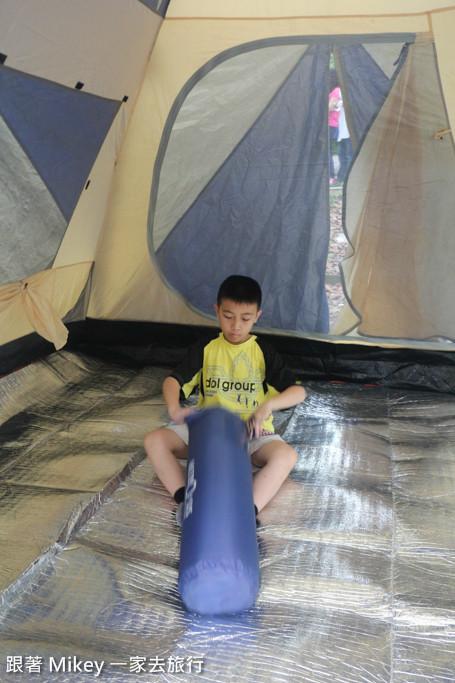 跟著 Mikey 一家去旅行 - 【 東勢 】東勢林場 - 露營