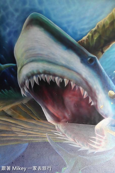 跟著 Mikey 一家去旅行 - 【 蘇澳 】祝大漁物產文創館 - 3D 隧道
