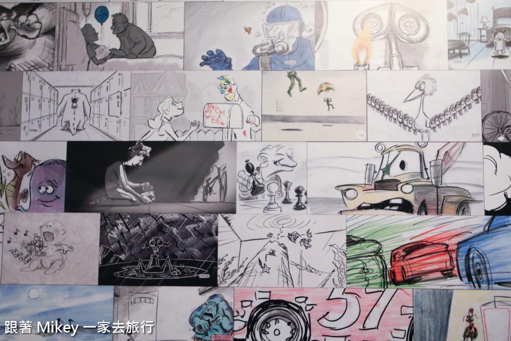 跟著 Mikey 一家去旅行 - 【 台北 】皮克斯 30 周年特展 - Part I