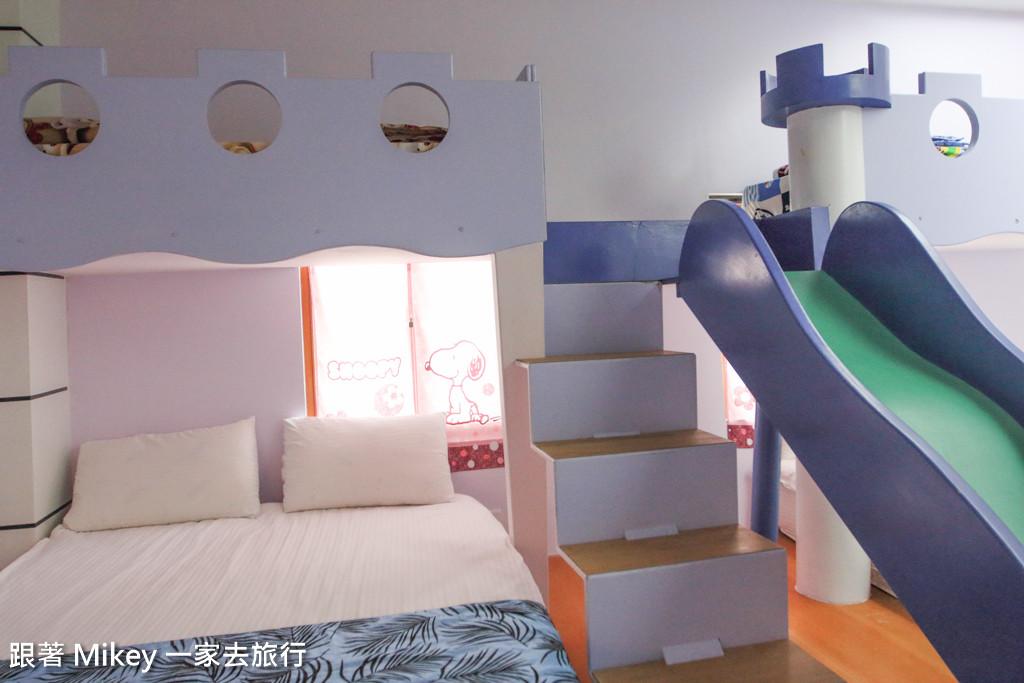 跟著 Mikey 一家去旅行 - 【 員山 】娃娃國親子渡假民宿 - 房間篇