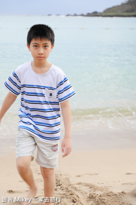 跟著 Mikey 一家去旅行 - 【 恆春 】小灣沙灘