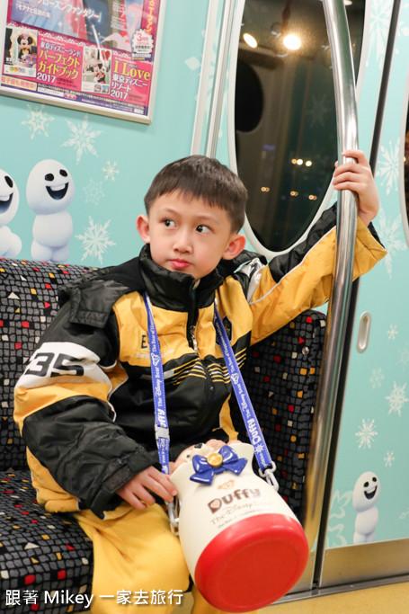 跟著 Mikey 一家去旅行 - 【 舞浜 】迪士尼單軌列車 - 夜晚篇